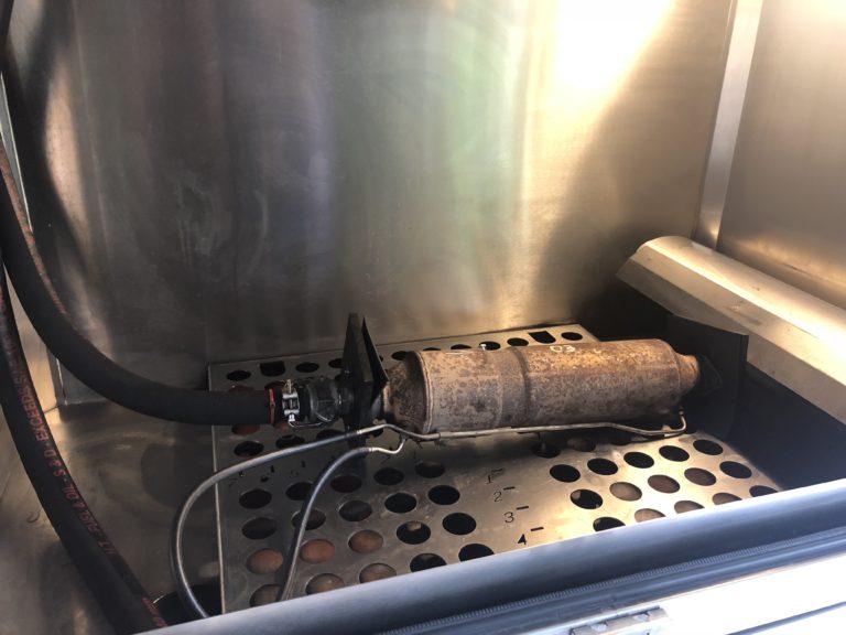 Maszyna do czyszczenia dpf z filtrem