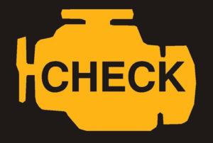 Błąd check silnika ikona