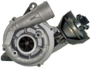 Turbosprężarka z czujnikiem pozycji