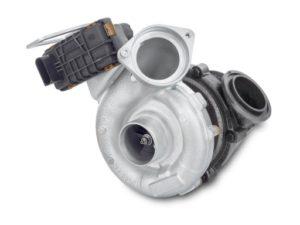 Turbosprężarka ze sterownikiem elektronicznym